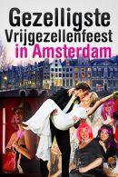 Gezelligste Vrijgezellenfeest in Amsterdam