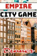 Empire City Dinner Tablet Game Bedrijfsuitje Amsterdam