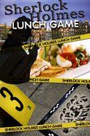 Sherlock Holmes Tablet Lunchspel in Amsterdam