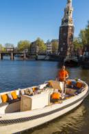Lunchcruise op een Sloep in Amsterdam