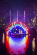 Amsterdam Light Festival Winter Walk