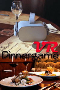 VR Dinerspel in Amsterdam