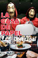 La Casa de Papel VR Dinerspel in Amsterdam