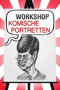 Workshop Komische Portretten tekenen in Amsterdam