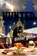 Hunted Tablet Dinner Game in Amsterdam